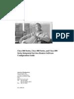 Cisco 800 Series Config Guide