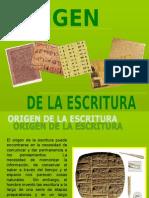 origuendelaescritura-090702143626-phpapp02
