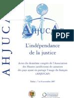 Indépendance de la justice