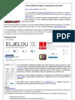"""Análisis como modelo de negocio y propuestas de actuación para la publicación  """"El jelou"""""""