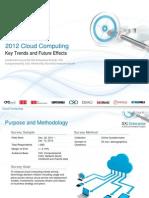IDG Enterprise Cloud Research 2012 Excerpt