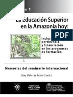 Memorias Seminario Eduación web
