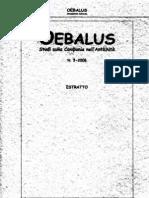 Oebalus 3, 2008 - Un Calice in Terra Sigillata Da Alife