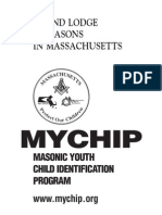 Freemasonry Manual For MYCHIP Child ID Program