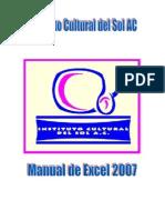 Manual de Excel 2007 ICS
