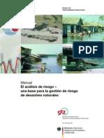 GTZ - Manual El Analisis de Riesgo