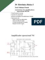 E - Circuitos com operacionais reais
