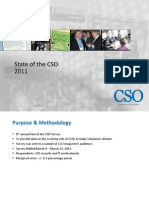 CSO State of the CSO Research 2011 Excerpt