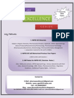 Niper Excellence Series - 2012