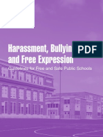 FAC Harassment Free Expression BROCHURE
