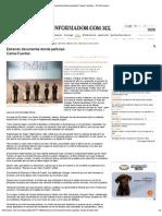 22-05-2012 Estrenan documental donde participó Carlos Fuentes - informador.com.mx