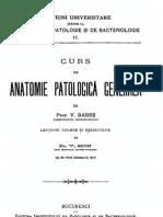 V. Babes - Curs de anatomie patologică generală
