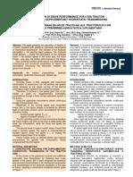 CALCULUL PERFORMANŢELOR DE TRACŢIUNE ALE U650 ECHIPAT CU TRANSMISIE HIDROSTATICA SUPLIMENTARA