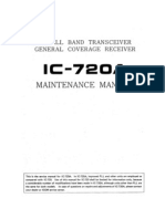 ICOM IC-720A Service Manual