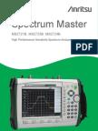 Anritsu MS2723B Spectrum Master Users Guide
