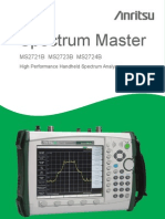 Anritsu MS2723B Spectrum Master Users Guide