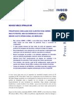 Release Novo Iveco Stralis Nr