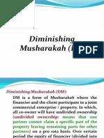 Diminishing DM