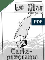 Carta Programa da Chapa Tanto Mar - Eleição CAXIF 2012