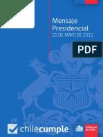 Discurso 21 de Mayo de 2012