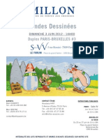 Catálogo de subasta de originales de bande dessinée (Junio 2012)