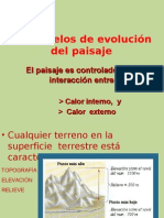 12- Modelos de evolución del paisaje