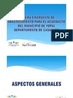 Sistema Emergente Acueducto de Yopal