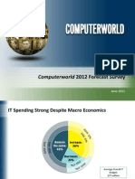 Computerworld 2012 Forecast Survey