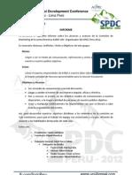 Informe Comité de Marketing