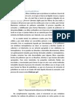 Obtención de las fibras de polietileno