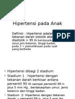 Hipertensi Pada Anak Pp