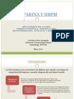 HEPARINA Y HBPM.