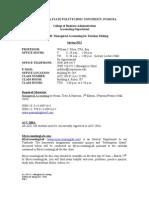 Acc 208-05 - Managerial Accounting Spring 2012 Syllabus - Foley(2)