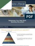 Help Desk Optimization Summary