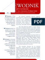 Otwarty konkurs ofert na zadanie publiczne Województwa Śląskiego w dziedzinie kultury fizycznej dzieci i młodzieży 2012