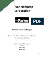 Parker Hannifan Corporation