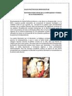 IDEALES POLÍTICOS DE SIMÓN BOLÍVAR