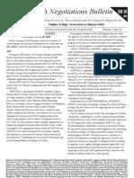 Earth Negotiations Bulletin – summary of May 22nd, 2012