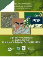 Cobertura Forestal 2010 y Dinamica 2006-2010
