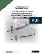 Flexco - Belt Scraper - U Type Installation Manual 2011