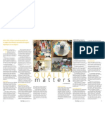 RT Vol. 10, No. 1 Quality matters