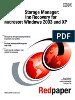 IBM Tivoli Storage Manager Bare Machine Recovery for Microsoft Windows 2003 and XP Redp3703