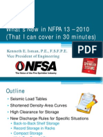 NFPA 13 2010 Changes in a Nutshell