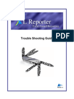 XL Reporter - Trouble Shooting Guide