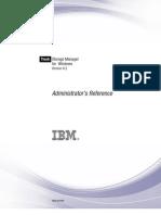 IBM Tivoli Storage Manager for Windows Administrator's Reference 6.2