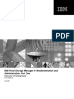 IBM Tivoli Storage Manager V5.4 Implementation and Administration Part One Tm506inst