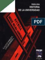 Para una historia de la Universidad [Vivaldi, A. y Muñoz, C.]