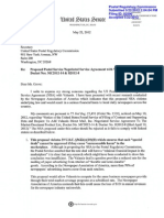 Schumer letter to PRC on Valassis NSA