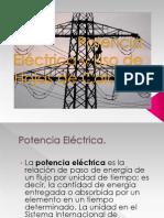Potencia Eléctrica y Uso de Hojas de Calculo