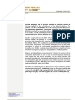 BIMBSec - Oil and Gas News Flash - Petrofac Bekok - 23052012